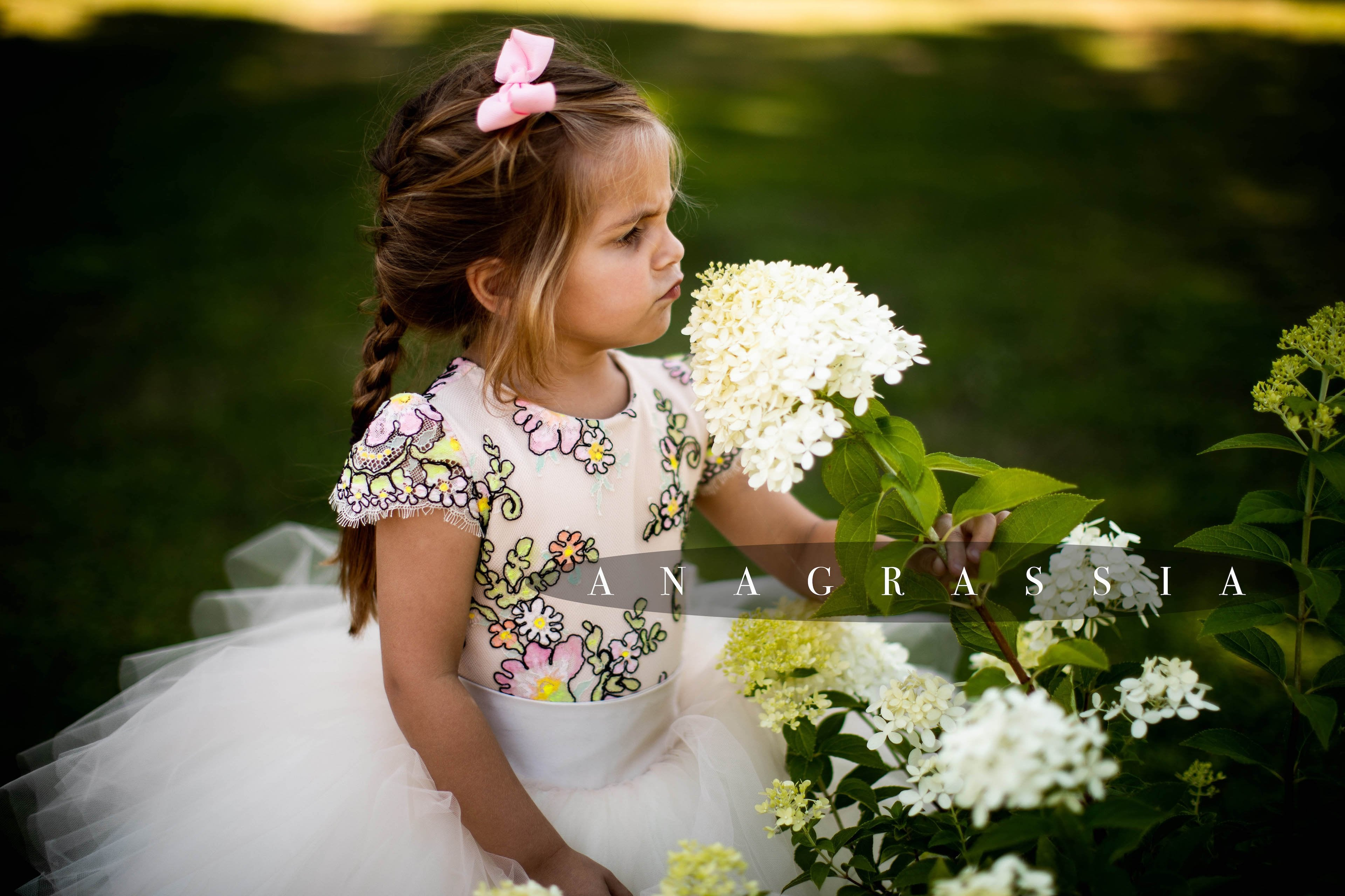 Flower Girl Lace Leotard/Bodysuit