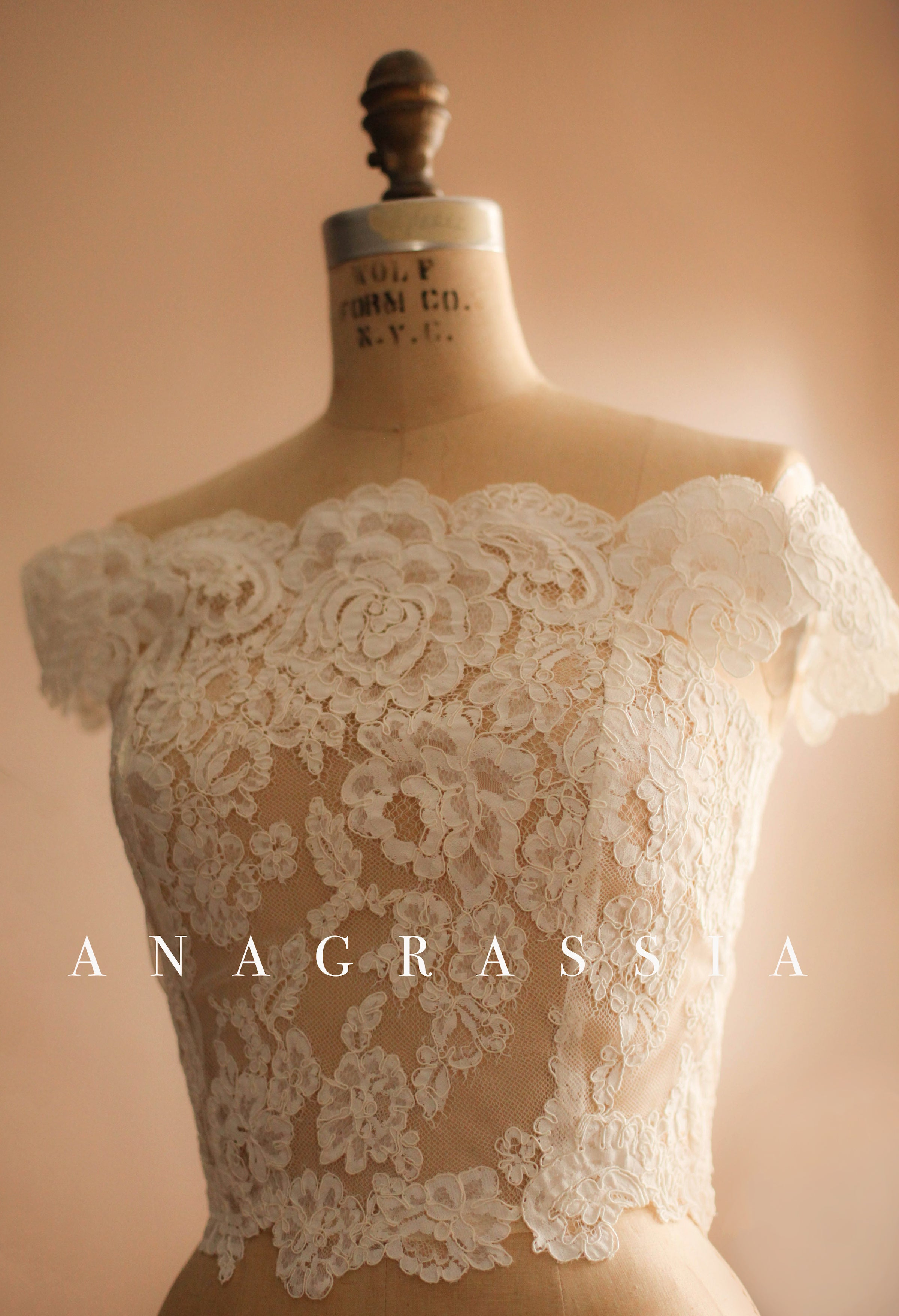 wedding lace bolero