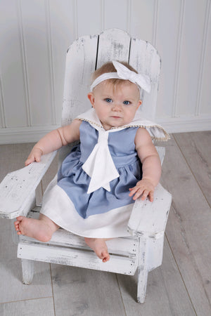 Light Blue Sailor Dress