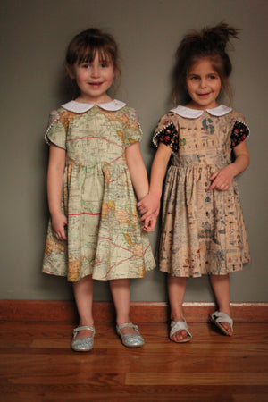 girl cotton dresses