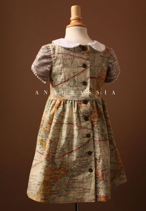 World Map Dress