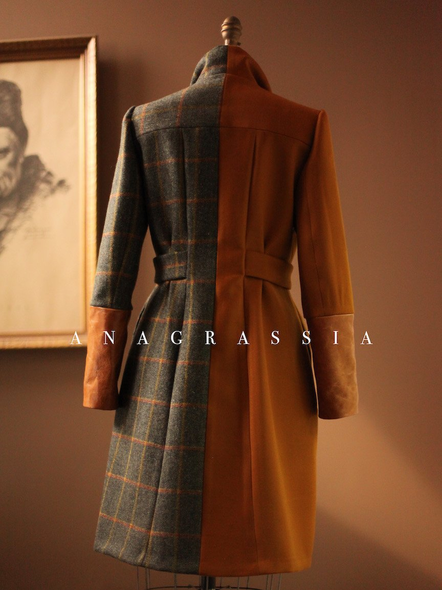 designer wool coat