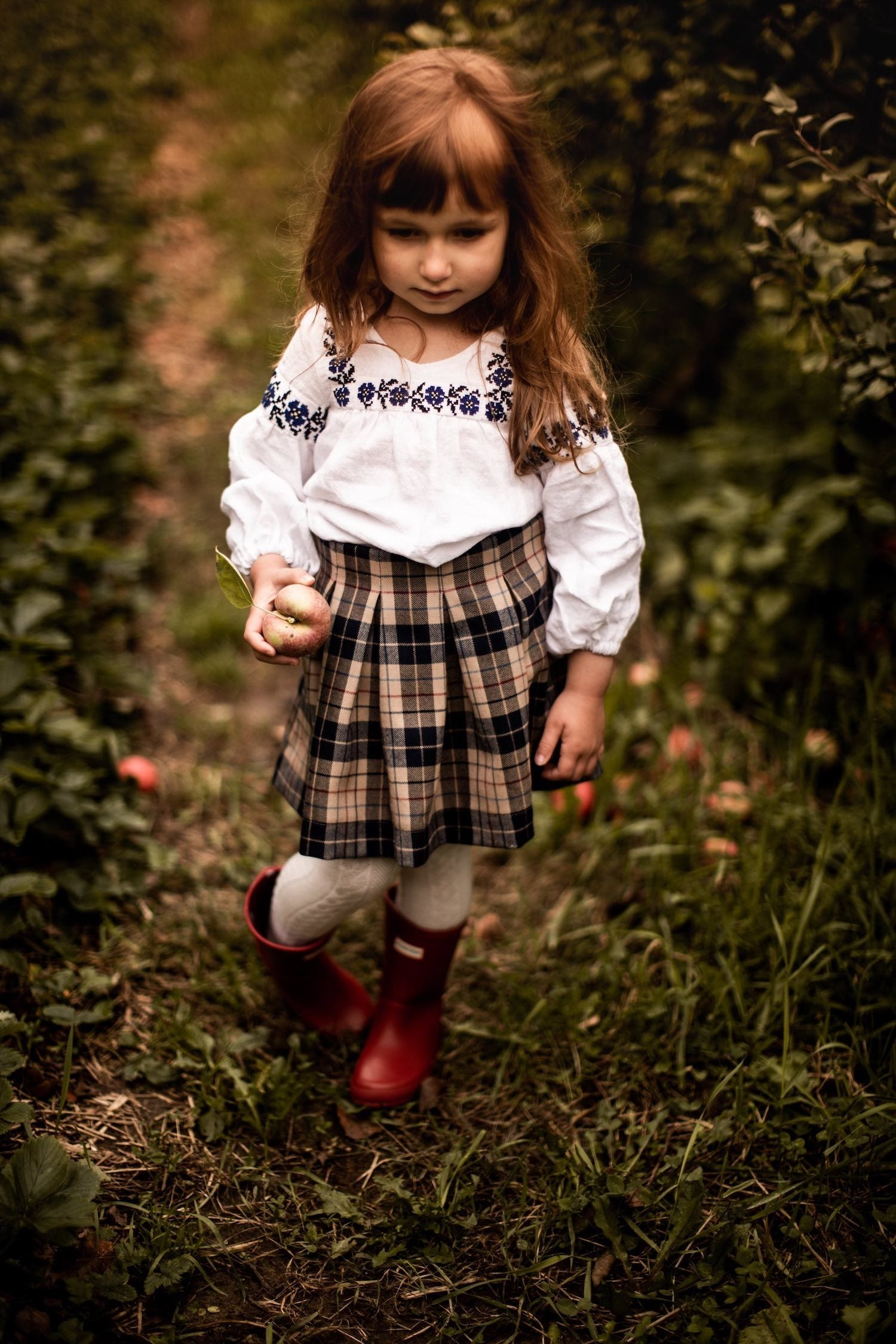 girls Ukrainian blouse