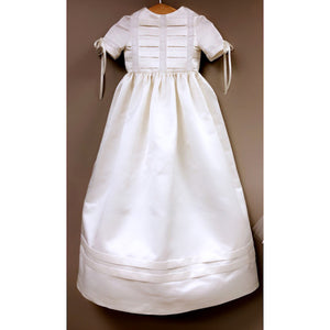 silk baptismal gown