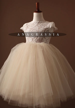 princess charlotte flower girl dress