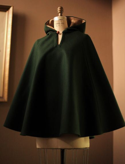 Wool Cape for Women with armholes