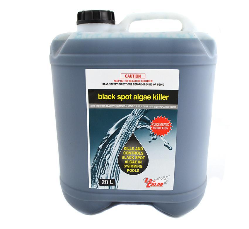 BLACK SPOT ALGAE KILLER LO-CHLOR 20L
