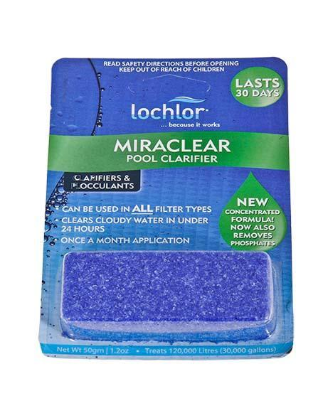 MIRACLEAR CUBES LO-CHLOR 50G