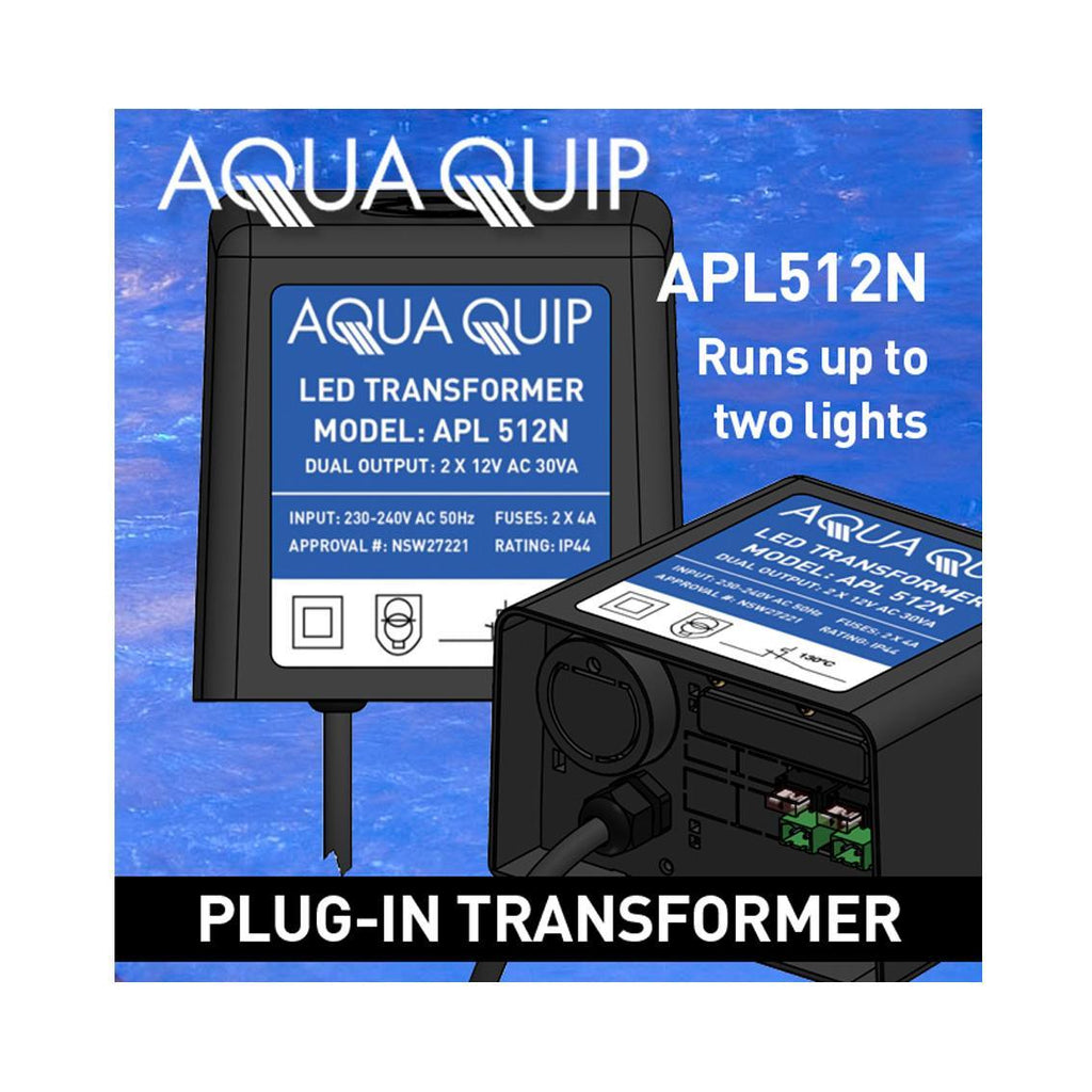 TRANSFORMER AQUAQUIP 12V 2 x 50VA