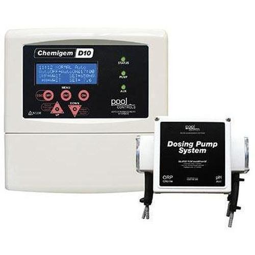 Chemigem D10 Chlorine and pH Controller c w Solenoid Switch-Dosing System-Chemigem-Budget Pool Care