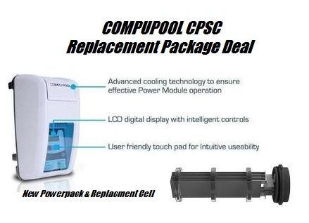 CompuPool CPSC Salt Water Chlorinator-Salt Water Chlorinator-CompuPool-CPSC 16 Package-Budget Pool Care