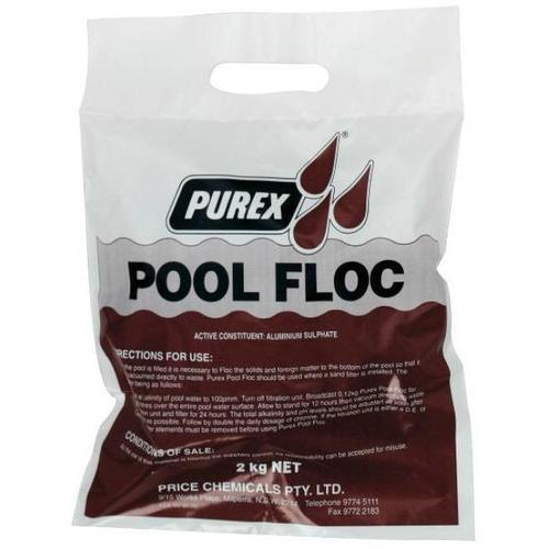 Pool Floc-Chemical-Purex-PUREX POOL FLOC - FLEXI (2kg)-Budget Pool Care
