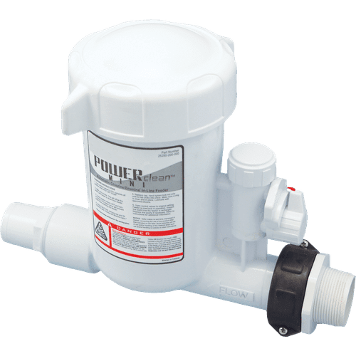 POWERCLEAN™ IN-LINE CHLORINATOR-Dosing System-CMP Products-IN-LINE CHLORINATOR POWER CLEAN MINI-Budget Pool Care