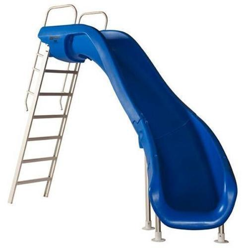 Rogue2 Pool Slide-Pool Slide-SR Smith-Rogue2 Pool Slide Blue - right curve-Budget Pool Care
