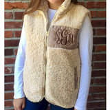 Fleece-Lined Sherpa Vest