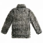 Frosted Quarter-Zip Sherpa Pullover