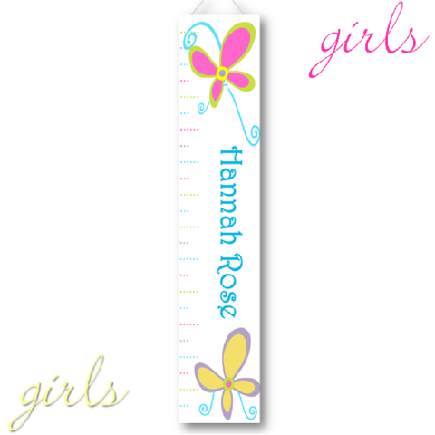 baby girl growth chart