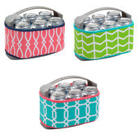 Easy Elegance Gifts - Six Pack Can Cooler with Cover - 1
