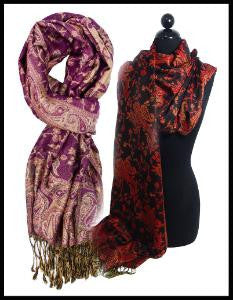 Easy Elegance Gifts - Paisley Pashminas - 1