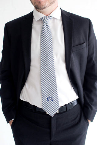 Easy Elegance Gifts - Seersucker Tie - 1