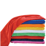 "Easy Elegance Gifts - Solid Color Cotton Beach Towels (30"" x 60"") - 1"