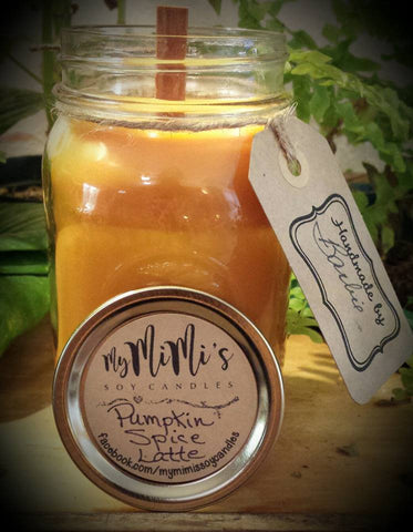 MyMimi's Soy Candles - Wood Wick