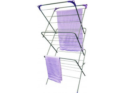 3-Tiered Clothes Airer - Chaffinch Student Living - Student Essentials Packs