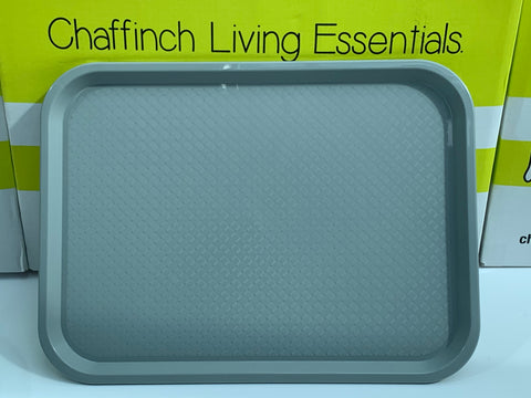 Light Grey Medium Food Tray 415mm x 305mm.