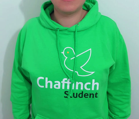Live Life a Little Smarter - Chaffinch Student Hoodie - Chaffinch Student Living - Student Essentials Packs - 1