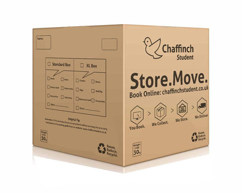 Large Storage Box - Pack of 5 - Chaffinch Student Living - Student Essentials Packs