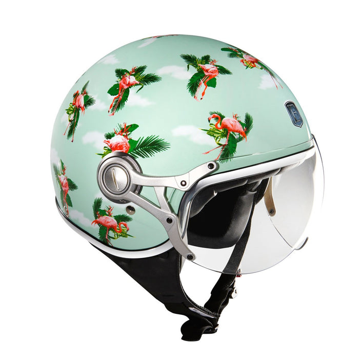 Exklusiv Polycarbonate Helmet- Freeway Flamingo