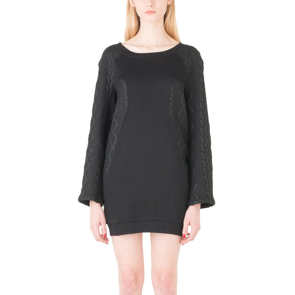 Black sweater dress EON Paris - EON Paris