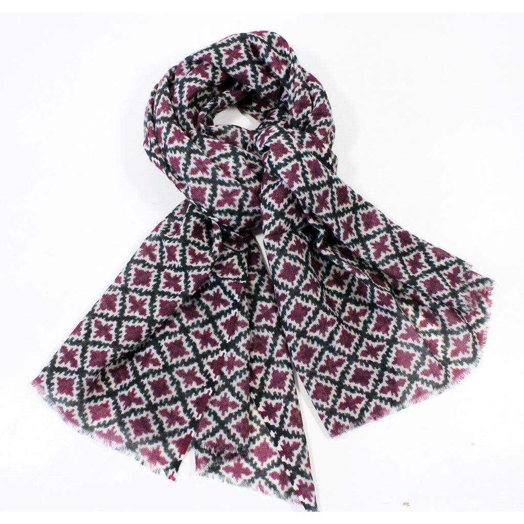 Wool Louise Scarf