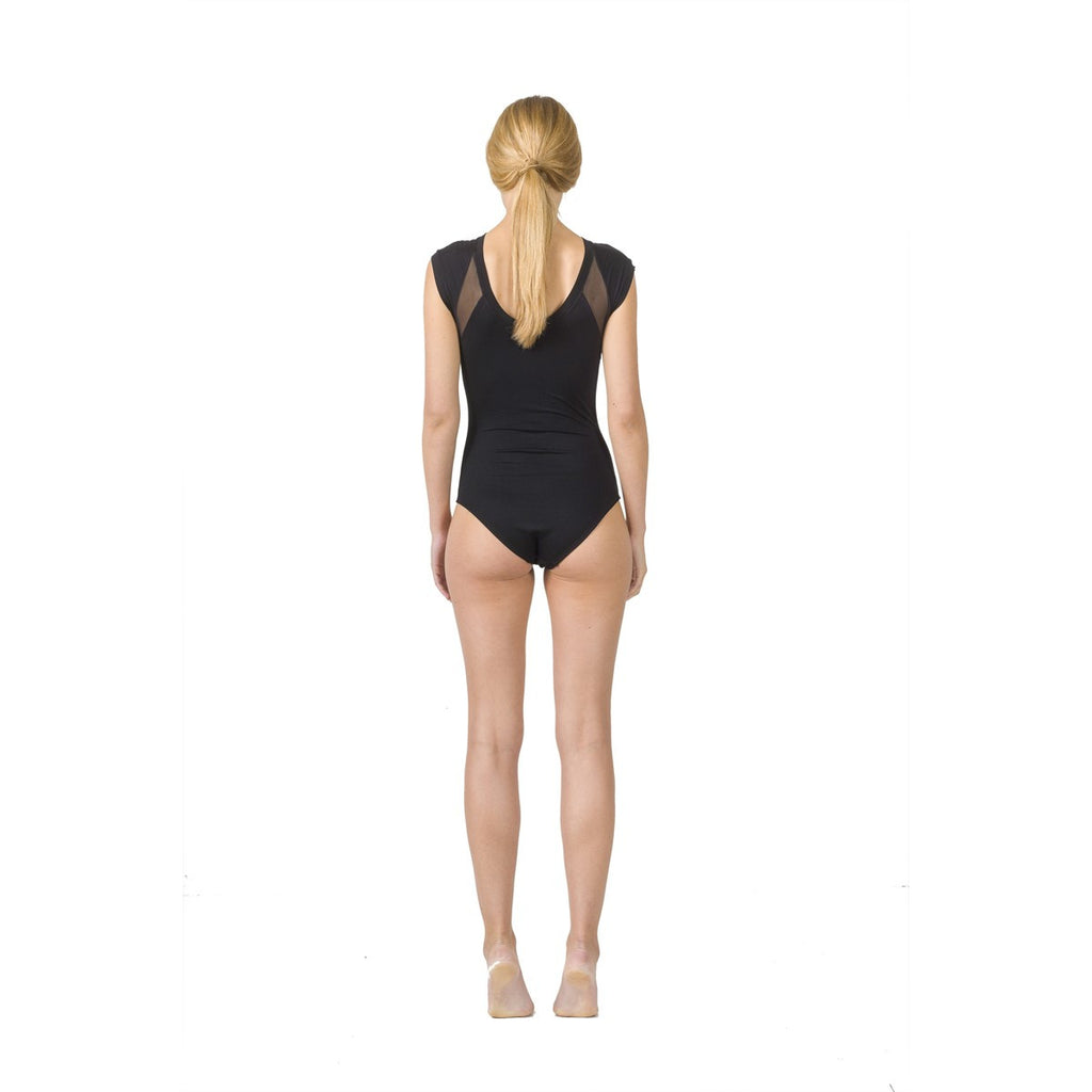 Women Mesh Panel Bodysuit EON Paris - EON Paris