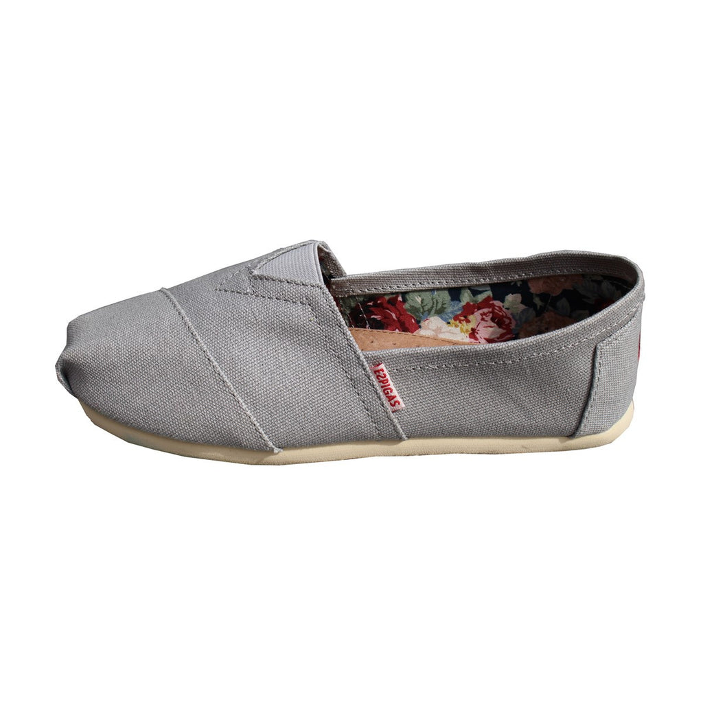 Men and women Light grey Canvas Sneakers Espadrilles Espigas - espigas