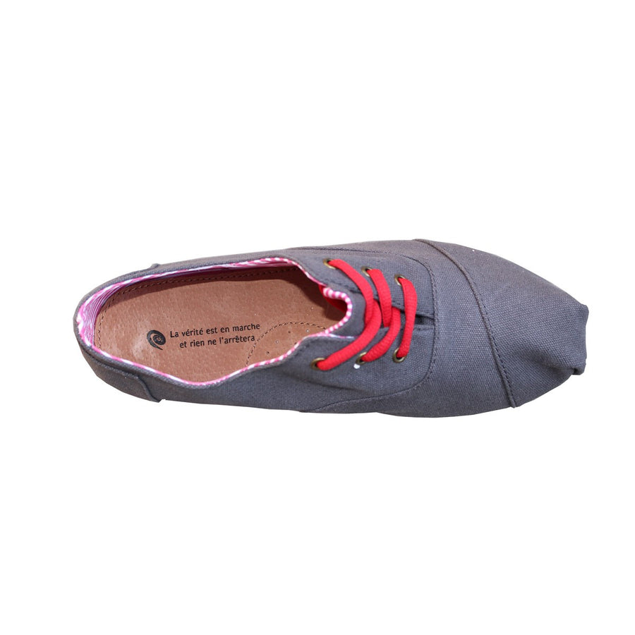 Men and Women Canvas Grey Espadrilles Espigas - espigas