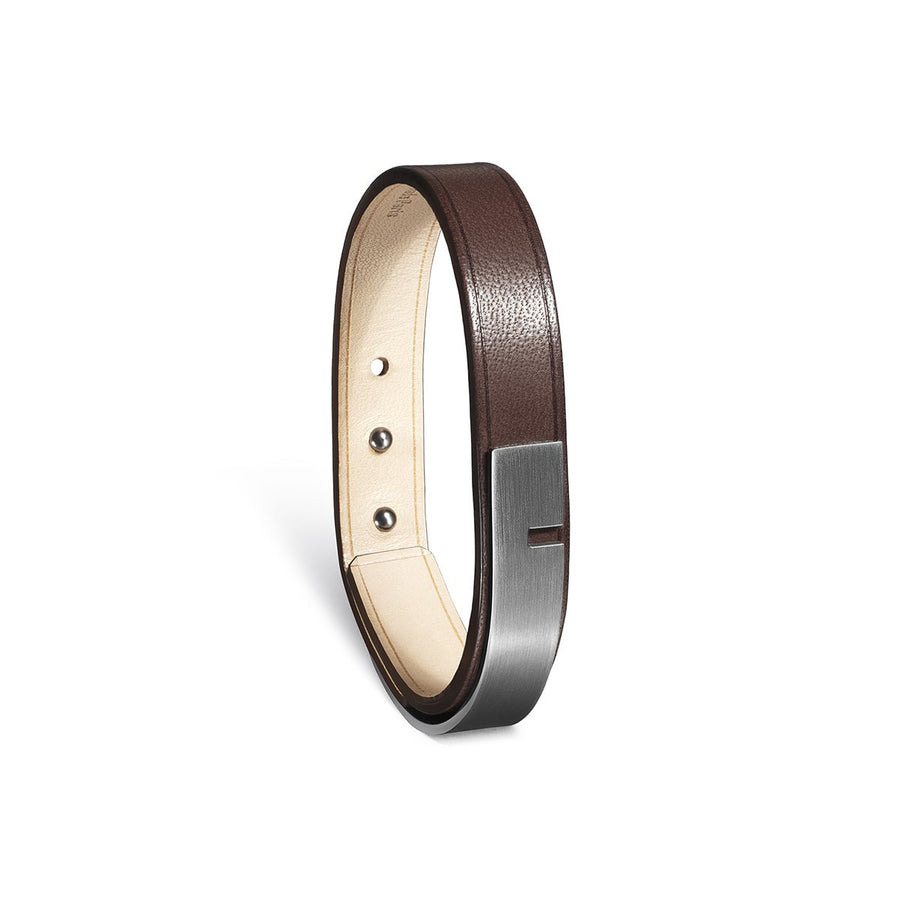 Leather bracelet Men Ursul Paris