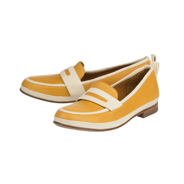 Olivier yellow loafers - Jour Ferie Paris