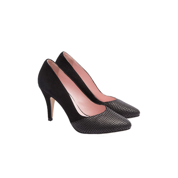 Black Coco stiletto pumps Coralie Masson