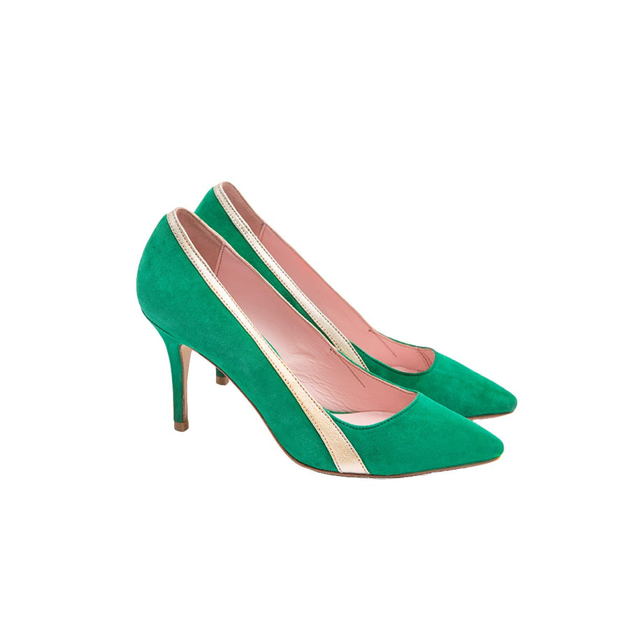 Gigi Green Stilettos Pumps Coralie Masson - Coralie Masson