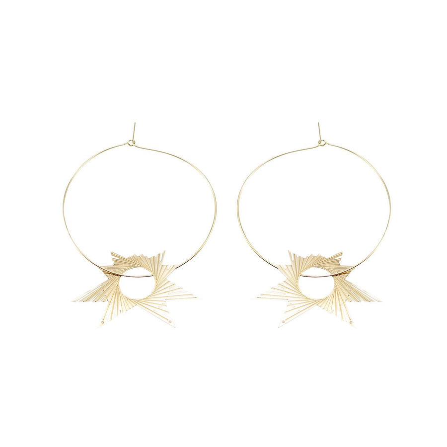 Barcelona Estrella star Earrings - Mademoiselle Felee