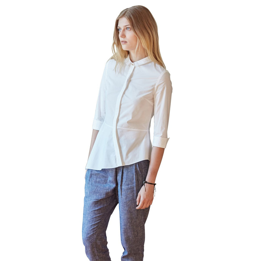 Women Shirt Lea White - Sunday Life