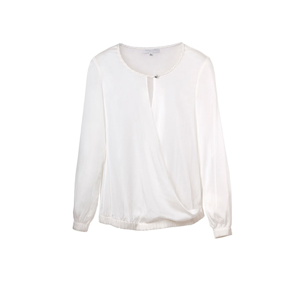 Women shirt Eloise White - Sunday Life