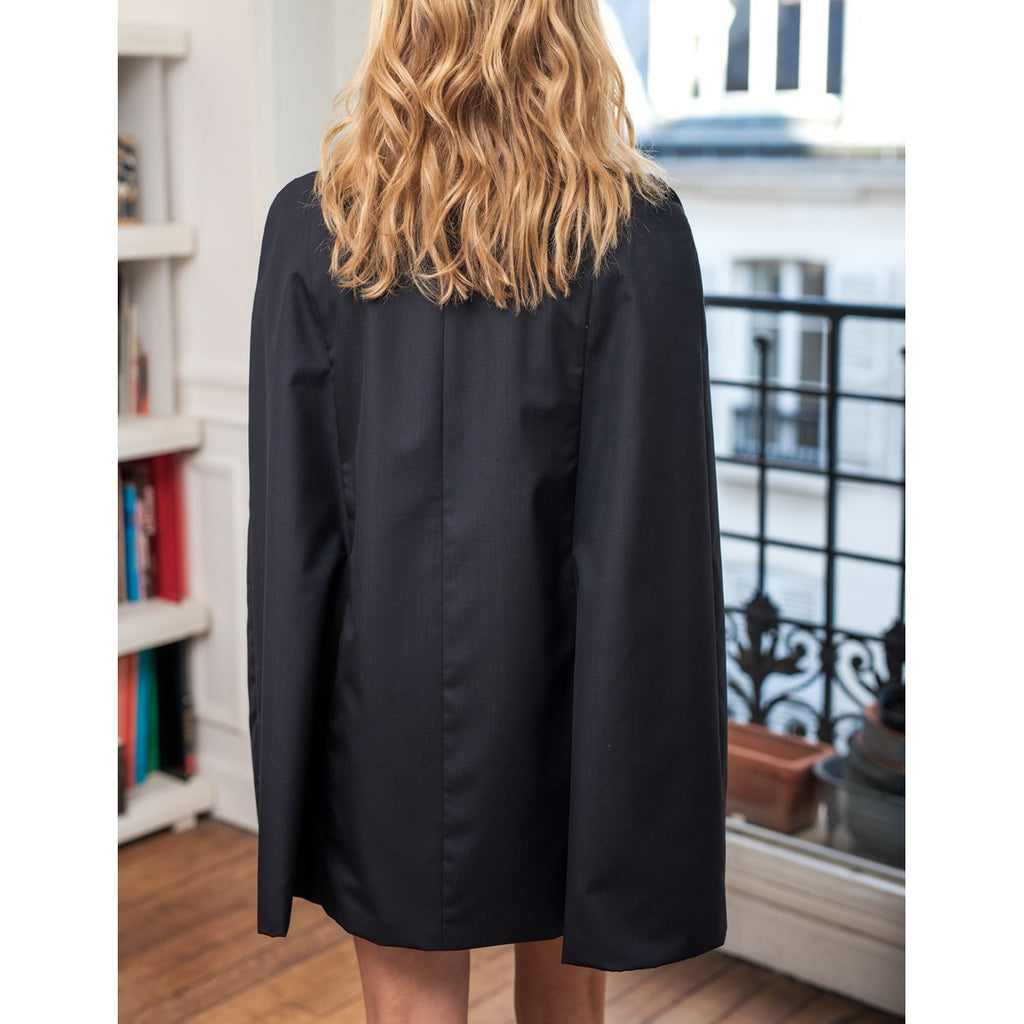 Women Blazer navy cape Sarah Sunday Life