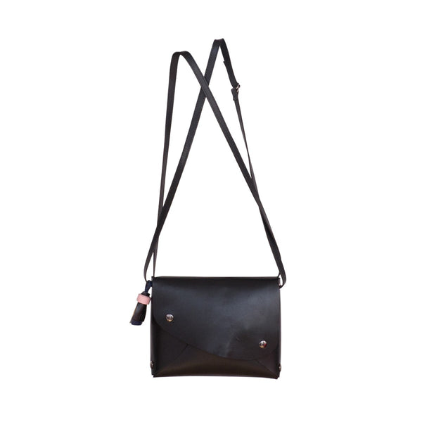 Leather Small City Bag - FFIL
