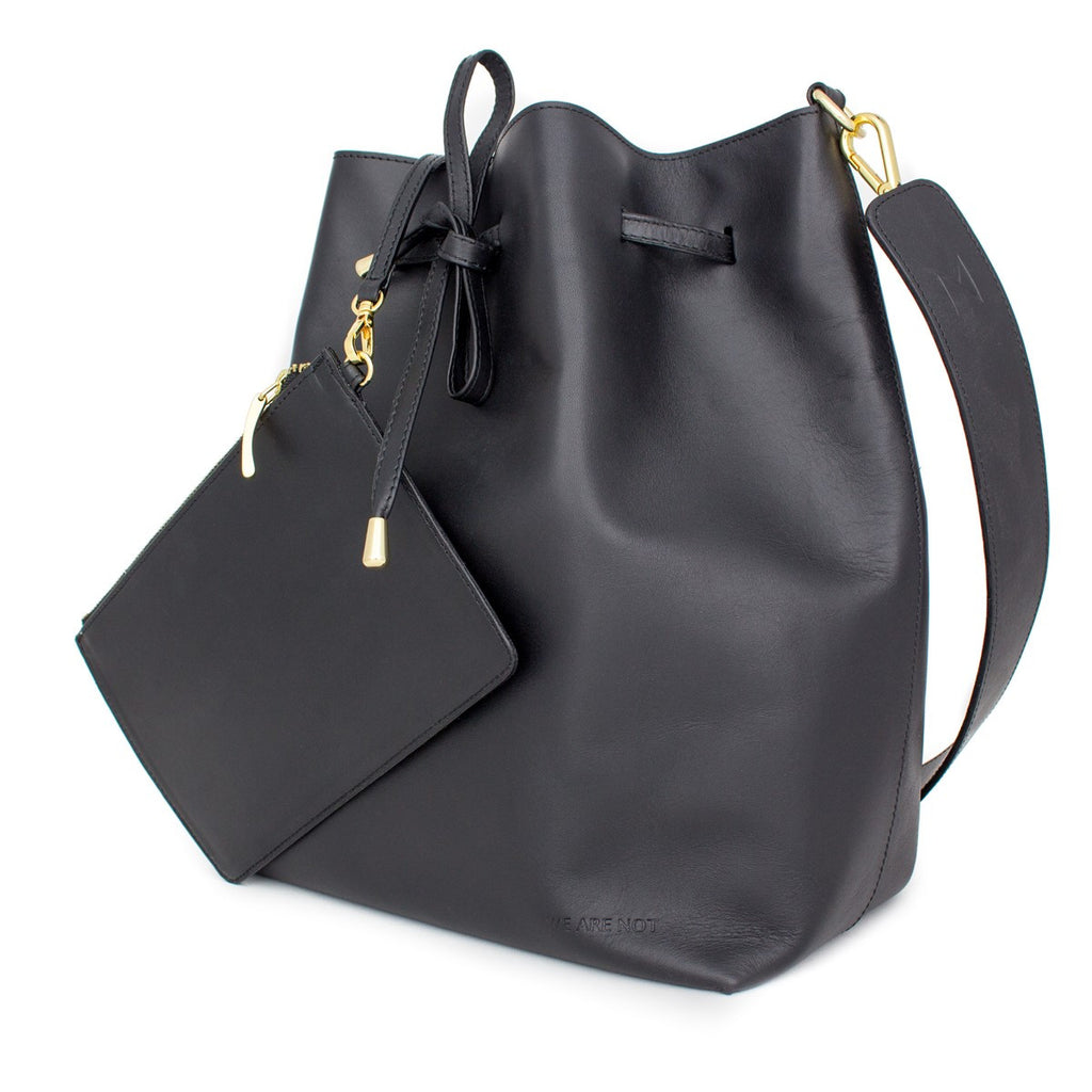Black Bucket bag Medium We Are Not - WE ARE NOT