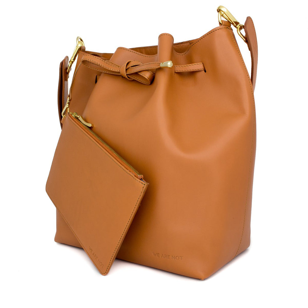 We Are Not Camel Bucket bag Medium