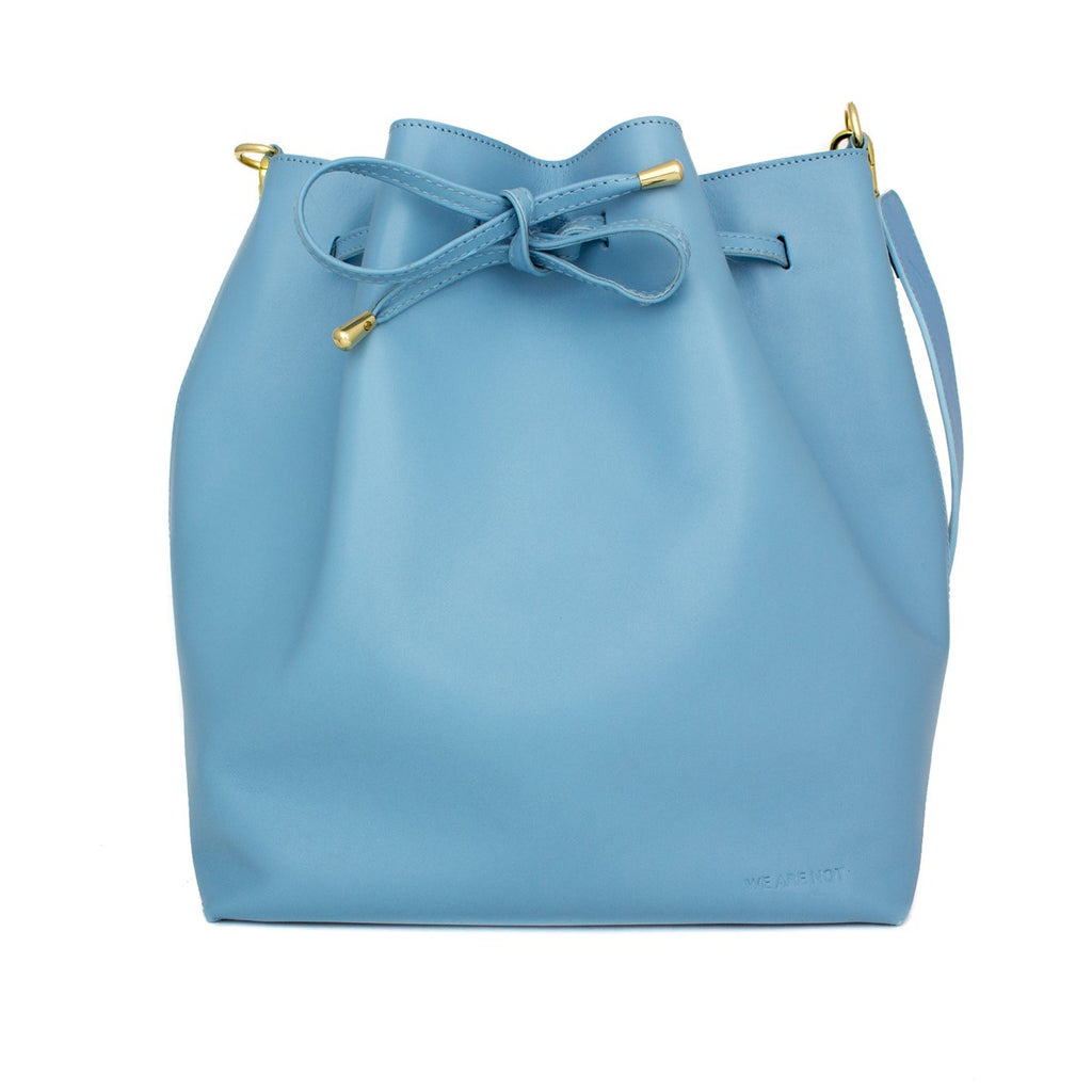 Blue Bucket Bag Medium We Are Not - WE ARE NOT