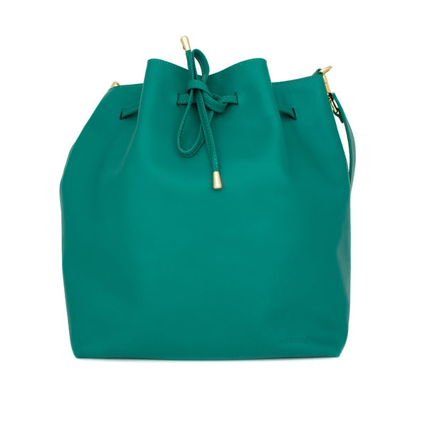 We Are Not Emerald Bucket Bag Medium - WE ARE NOT