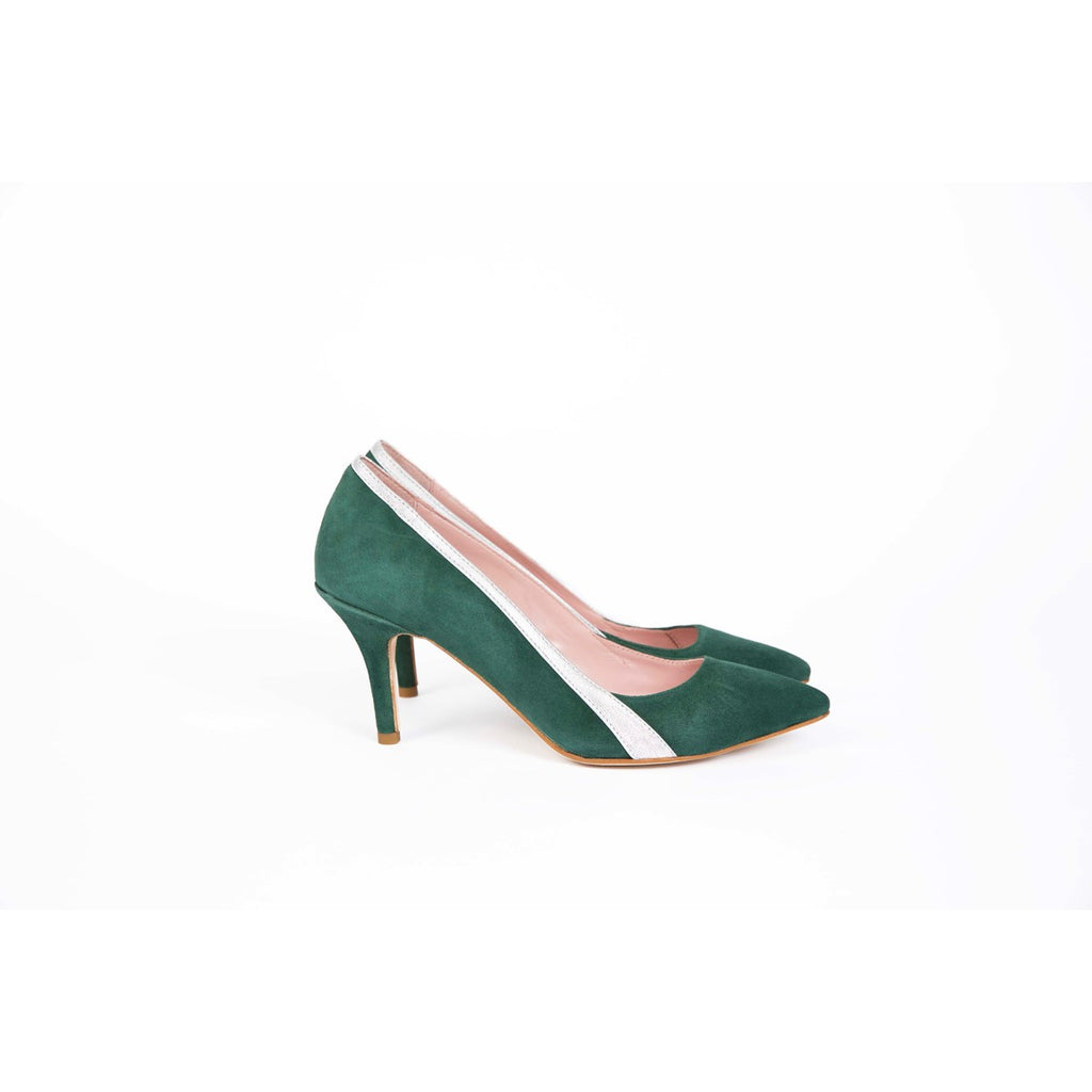 Gigi Green Pumps Coralie Masson